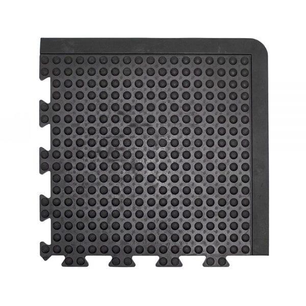 Bubblemat Connect Corner Tile Black