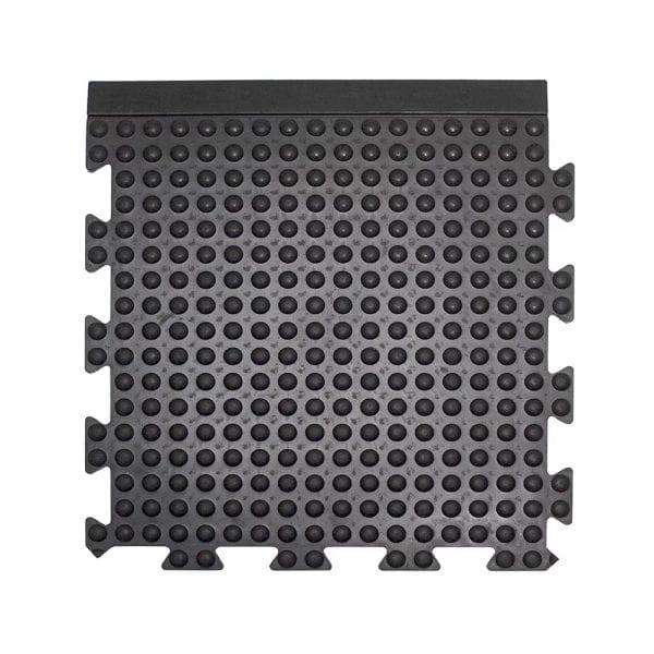Bubblemat Connect Edge Tile Black