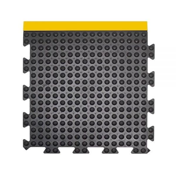 Bubblemat Connect Edge Tile Yellow/Black