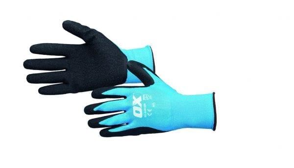 OX Tools Latex Flex Glove Size 10 / XL