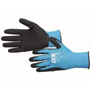 OX Latex Flex Glove Size 9 / L