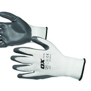 OX Nitrile Flex Gloves - Size 10 (XL)