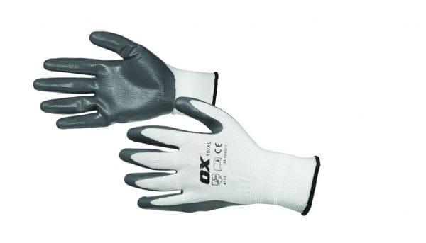 OX Nitrile Flex Gloves - Size 10 (XL)