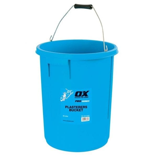 OX Pro 25 Litre Plasterers Bucket| Mixing and Whisks