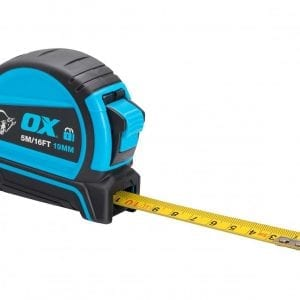 OX Pro Dual Auto Lock Tape Measure - 5m
