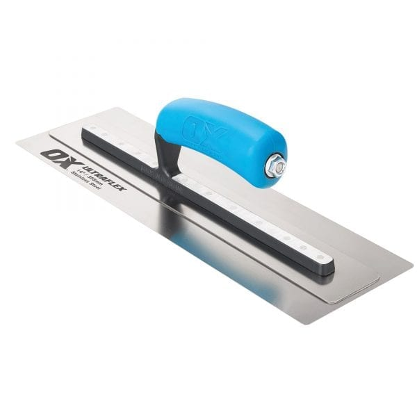OX Pro UltraFlex Finishing Trowel 14in / 355 x 110 mm