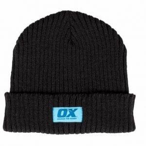 OX Winter Knitted Beanie - Black
