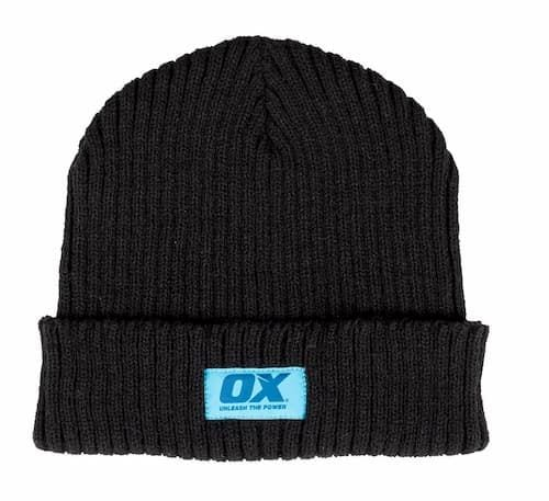 OX Winter Knitted Beanie - Black