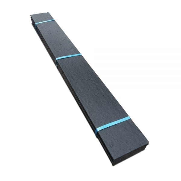 RecoEdge Plank - Black - Stacked