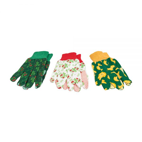Floral Gardening Gloves 3pk