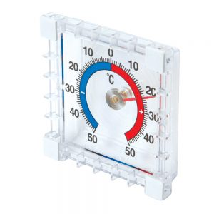 Indoor/Outdoor Stick-On Thermometer