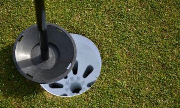 Golf Flag Artificial Grass
