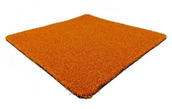 Orange Coloured Grass