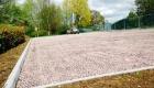 X-Grid gravel retention grid for commercial car parks